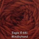 ไหมพรม Eagle กลุ่มใหญ่ สีพื้น รหัสสี 681
