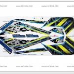 สติ๊กเกอร์ MSX-TAKEGAWA ปี 2015 ติดรถสีขาว