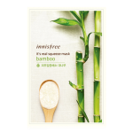 พร้อมส่ง INNISFREE IT'S REAL SQUEEZE MASK-BAMBOO 잇츠 리얼 스퀴즈 대나무 마스크 950 won