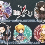 Fate/Zero Keychains