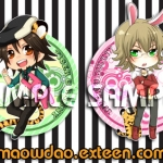 TIGER and BUNNY Keychain