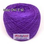 ไหม Shiny #18 รหัสสี 29 สีม่วงเข้ม