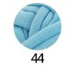 ไหมผ้ายืด (T-Shirt) เกรด A รหัสสี 44 สีฟ้าใส