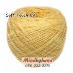 ไหมซอฟท์ทัช (Soft Touch) สี 09 สีเหลืองไข่
