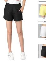 กางเกงขาสั้น สีขาว/สีดำ/สีเหลือง (XL,2XL,3XL,4XL)