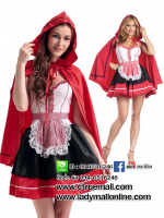 ชุดเจ้าหญิงดิสนีย์ ชุดหนูน้อยหมวกแดง ชุดแฟนซี ชุดคอสเพลย์ ชุดแฟนซีนิทาน ชุดแฟนซีการ์ตูน