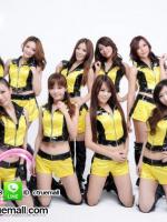 ชุดเชียร์ลีดเดอร์เหลืองดำ ชุดนักร้อง ชุดแดนเซอร์ ชุดเต้น cover ชุดพริตตี้ ชุดโคโยตี้ ชุดนักร้องเกาหลี