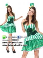 ชุดเจ้าหญิง ชุดคอสเพลย์เจ้าหญิง ชุดแฟนซีเจ้าหญิง ชุดแฟนซีสีเขียว