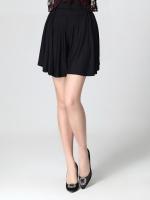 กางเกงขาสั้น สีเทา/สีดำ เอวยางยืด (2XL,3XL,4XL)