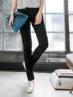 (พร้อมส่ง) กางเกงยีนส์ขายาวไซส์ใหญ่ สีดำ (5XL)