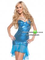 ชุดแฟนซีนางเงือก ชุดแฟนซีการ์ตูน ชุดแฟนซีนิทาน ชุดคอสเพลย์ ชุดเจ้าหญิงนางเงือก ชุดแฟนซีดิสนีย์