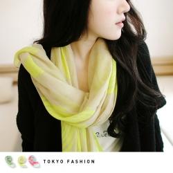 ♥♥พร้อมส่ง สีชมพูฟ้ากับสีเหลืองค่ะ♥♥ ผ้าพันคอเก๋ๆ ต้อนรับลมหนาว พิมพ์ลายกราฟฟิคสุดสวย ผ้า Cotton เนื้อดี