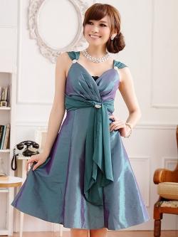 ♥พร้อมส่ง♥ ชุดราตรีงดงาม สีเขียว ไซส์ (XL)