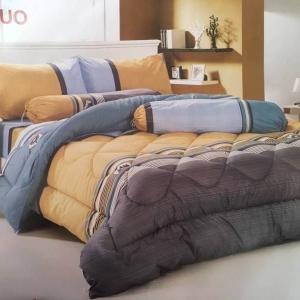 ชุดเครื่องนอนเกรดพรีเมี่ยม ผ้าคอตตอน ผ้าดีมาก นวมใหญ่ 8 ฟุต (ส่งฟรีพัสดุ / ems. 150 บ.)