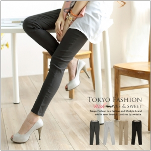 ♡♡Pre Order♡♡ กางเกงเลกกิ้งขายาว เนื้อผ้าคอตตอนนิ่ม สวมใส่สบาย ใส่ทำงานหรือไปเที่ยวน่ารักๆ ค่ะ