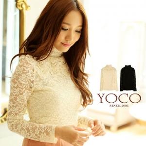 ♡♡pre-order♡♡ เสื้อเจ้าหญิงหวานๆ คอเต่าแต่งมุกรอบคอ ผ้าลูกไม้หวานๆ ทั้งชุดแขนยาวสวยหรูหรามากๆ