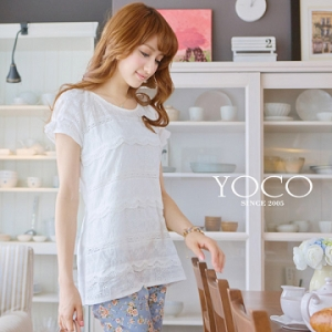 ♡♡pre-order♡♡ เสื้อหวานๆ สีขาวคอกลม แขนสั้น สวยน่ารักๆ
