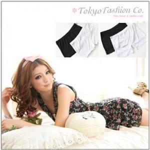 ♥♥พร้อมส่งค่ะ♥♥ กางเกงซับในขาสั้น สีขาวแต่งผ้าลูกไม้สวยๆ