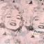 ผ้าพันคอแฟชั่นลายวินเทจ Vintage : สีชมพู CK0137 thumbnail 15