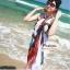 ผ้าคลุมชายหาด : สีผสมโทนอ่อนสลับเข้ม AB0016 thumbnail 1