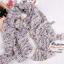 ผ้าพันคอแฟชั่น ลายลิปสติก : สีม่วงพื้นสีครีม CK0299 thumbnail 3