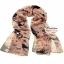 ผ้าพันคอแฟชั่นลายโอลีฟ Olive : สีน้ำตาล CK0359 thumbnail 2