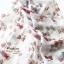 ผ้าพันคอแฟชั่นลายทอฟฟี Toffee : สีขาว CK0237 thumbnail 5