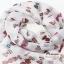 ผ้าพันคอแฟชั่นลายทอฟฟี Toffee : สีขาว CK0237 thumbnail 2