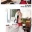 ผ้าพันคอแฟชั่นเกาหลีสีพื้น Hot Basic : สีครีม CK0150 thumbnail 3