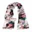 ผ้าพันคอแฟชั่นลายโอลีฟ Olive : สีชมพู CK0358 thumbnail 3