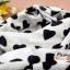 ผ้าพันคอแฟชั่นลายหัวใจ Sweet Heart : สีดำพื้นขาว CK0122 thumbnail 8