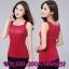เสื้อกล้าม เสื้อชั้นใน ผ้ากำมะหยี่ สีดำ/สีม่วง/สีแดง (XL,2XL,3XL,4XL) thumbnail 1