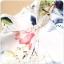 ชุดกี่เพ้าสั้นไซส์ใหญ่ แขนล้ำ ลายดอกไม้ (XL,2XL,3XL) thumbnail 3
