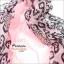 ผ้าพันคอลายขนนก Feather : สีชมพูอ่อน CK0344 thumbnail 3
