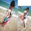 ผ้าคลุมชายหาด : สีผสมโทนอ่อนสลับเข้ม AB0016 thumbnail 6