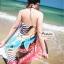 ผ้าคลุมชายหาด : สีผสมโทนอ่อนสลับเข้ม AB0016 thumbnail 7
