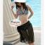 ผ้าคลุมชายหาด Hot Basic : สีดำ AB0004 thumbnail 5