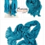 ผ้าพันคอแฟชั่นเกาหลีสีพื้น Hot Basic : สีฟ้าน้ำทะเล CK0405 thumbnail 2