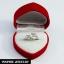 INSPIRE JEWELRY แหวนรูปปลาโลมา 3 ตัว ตาเพชรสวิสน้ำงามเกรดAAA+ ลำตัวปลาทำซาติน งานจิวเวลลี่ ชุบทองขาวหนาพิเศษ ทนทาน white gold plated แหวนเพชร แหวนคู๋รัก แหวนแต่งงาน แหวนหมั้น ปีใหม่ วาเลนไทน์ thumbnail 15