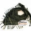 ผ้าพันคอชีมัค Shemash (เนื้อผ้า Viscose) : สีเขียวดำ CV0014 thumbnail 1