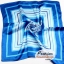 ผ้าพันคอ ผ้าคาดผมเนื้อไหมญี่ปุ่น : สีฟ้า MJ0002 thumbnail 2