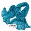 ผ้าพันคอแฟชั่นเกาหลีสีพื้น Hot Basic : สีฟ้าน้ำทะเล CK0405 thumbnail 1