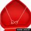 Inspire Jewelry ,ชุดเซ็ท สร้อยคอ สร้อยข้อมือ พร้อมต่างหู infinity ฝังเพชรสวิส พร้อมกล่องกำมะหยี่สวยหรู งาน Design ตัวเรือนหุ้มทองแท้ 100% 24K สวยหรู พร้อมกล่องกำมะหยี่สวยหรู สำหรับคนพิเศษ ใส่เอง เป็นของขวัญของฝาก วาเลนไทน์ วันเกิด ตรุษจีนฯลฯ thumbnail 11
