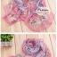 ผ้าพันคอแฟชั่นสวยหรู Luxury : สีชมพู CK0046 thumbnail 2