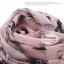 ผ้าพันคอแฟชั่นลายวินเทจ Vintage : สีชมพู CK0137 thumbnail 5