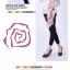 ผ้าพันคอแฟชั่นลายวินเทจ Vintage : สีชมพู CK0137 thumbnail 16