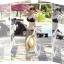 ผ้าคลุมชายหาด ลายแนวขวาง : สีดำขาว AB0009 thumbnail 7
