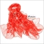 ผ้าพันคอแฟชั่น ลายลิง Paul Frank : สีชมพู CK0393 thumbnail 1