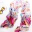 ผ้าพันคอแฟชั่นลายสวยน่ารัก Kawaii : สีชมพู CK0034 thumbnail 1