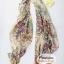 ผ้าพันคอแฟชั่นลายวินเทจ Vintage : สีน้ำตาล CK0153 thumbnail 8